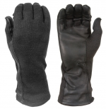 Flight gloves with Nomex® and leather palms